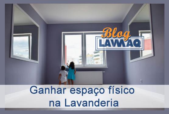 GANHANDO ESPAÇO FÍSICO NA LAVANDERIA