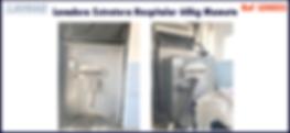 ref LEH025 lavadora extratora hospitalar usada para lavanderia industrial
