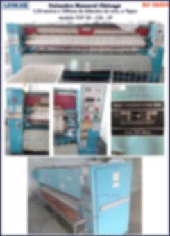 ref CAL054 calandra monorol usada com 3 20 m para lavanderia industrial