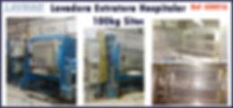 ref LEH016 lavadora extratora hospitalar