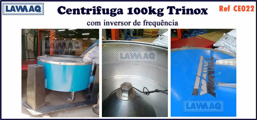 ref CE022 centrifuga 100kg trinox com inversor de frequencia