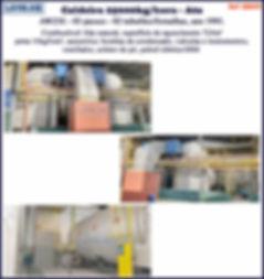ref CD049 Caldeira de 25000kg h Ata gas