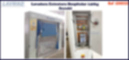 ref LEH032 lavadora extratora hospitalar usada 140kg para lavanderia industrial