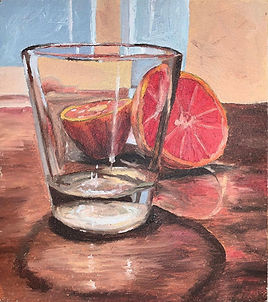 Glass and Grapefruit