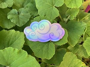 Happy Cloud Sticker