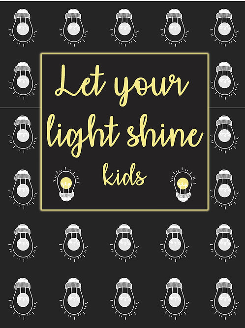 Let Your Light Shine Kids Devotional