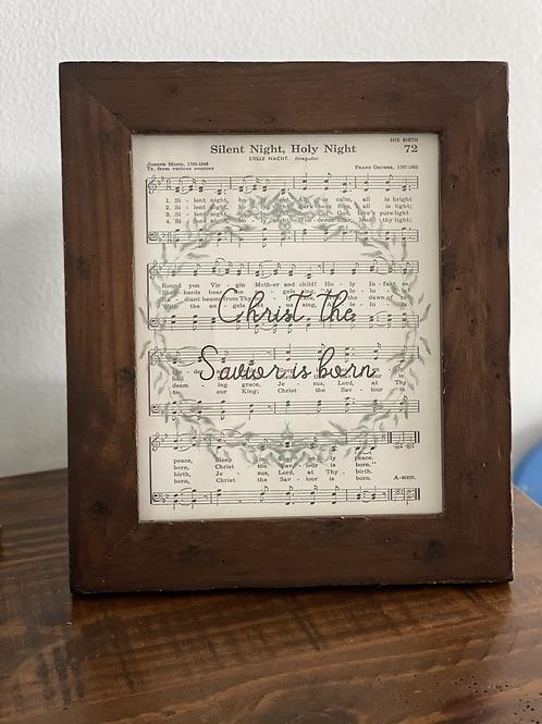 Christmas Song Printable (digital file only)