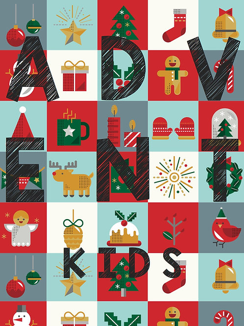 Kid's Advent Study (Digital Download ONLY)