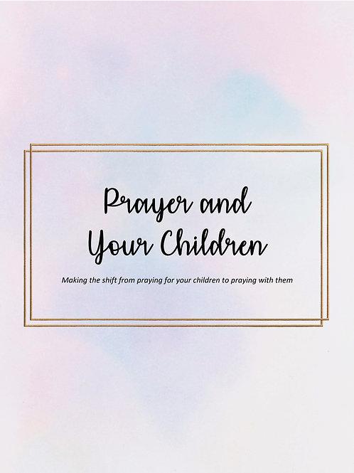 Prayer and Your Children Devotional