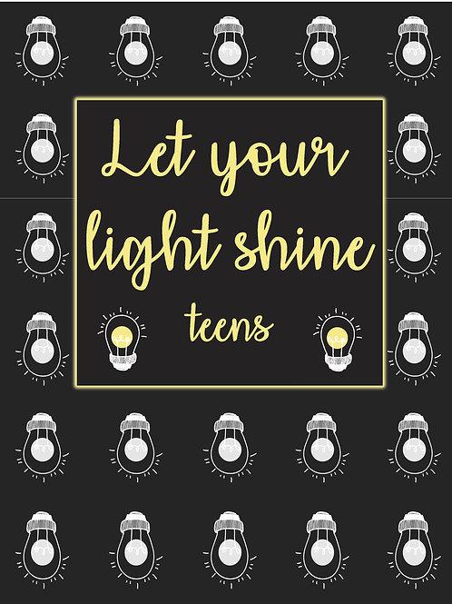 Let Your Light Shine Teen Devotional
