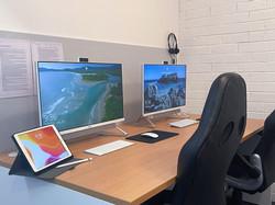 BTA Tutoring Office - Forestville: Middle Desk Set-up