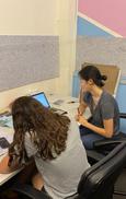 BTA Belrose Office 2 - BTA Tutor with Student.jpg