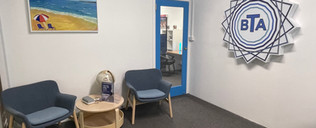 BTA Mona Vale Tutoring Academy - Waiting Area - Waiting Area + Logo.JPG