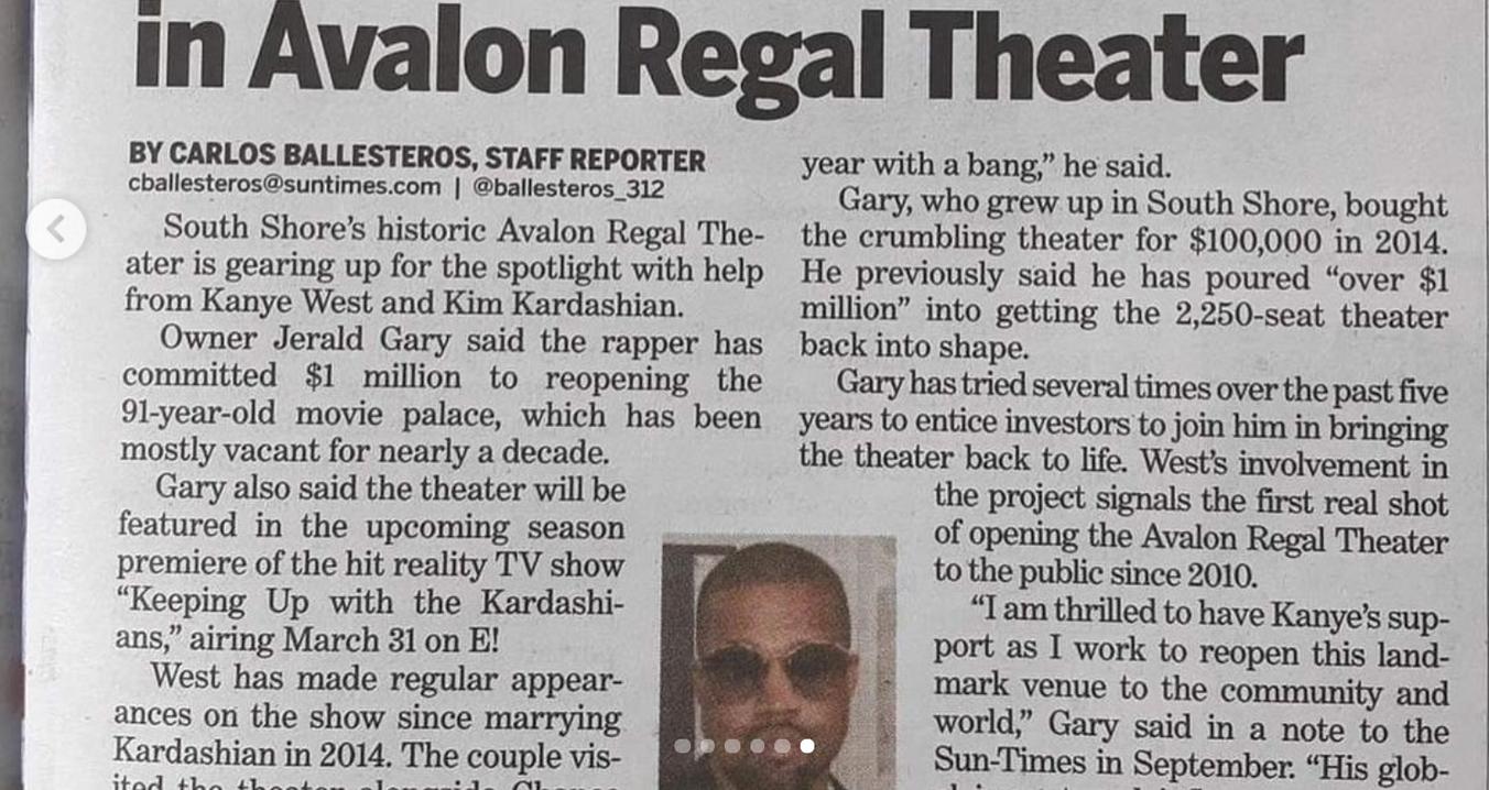 Avalon Regal Theater