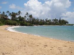 Wailua Beach Looking Northeast
