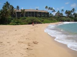 Wailua Beach Near Condo