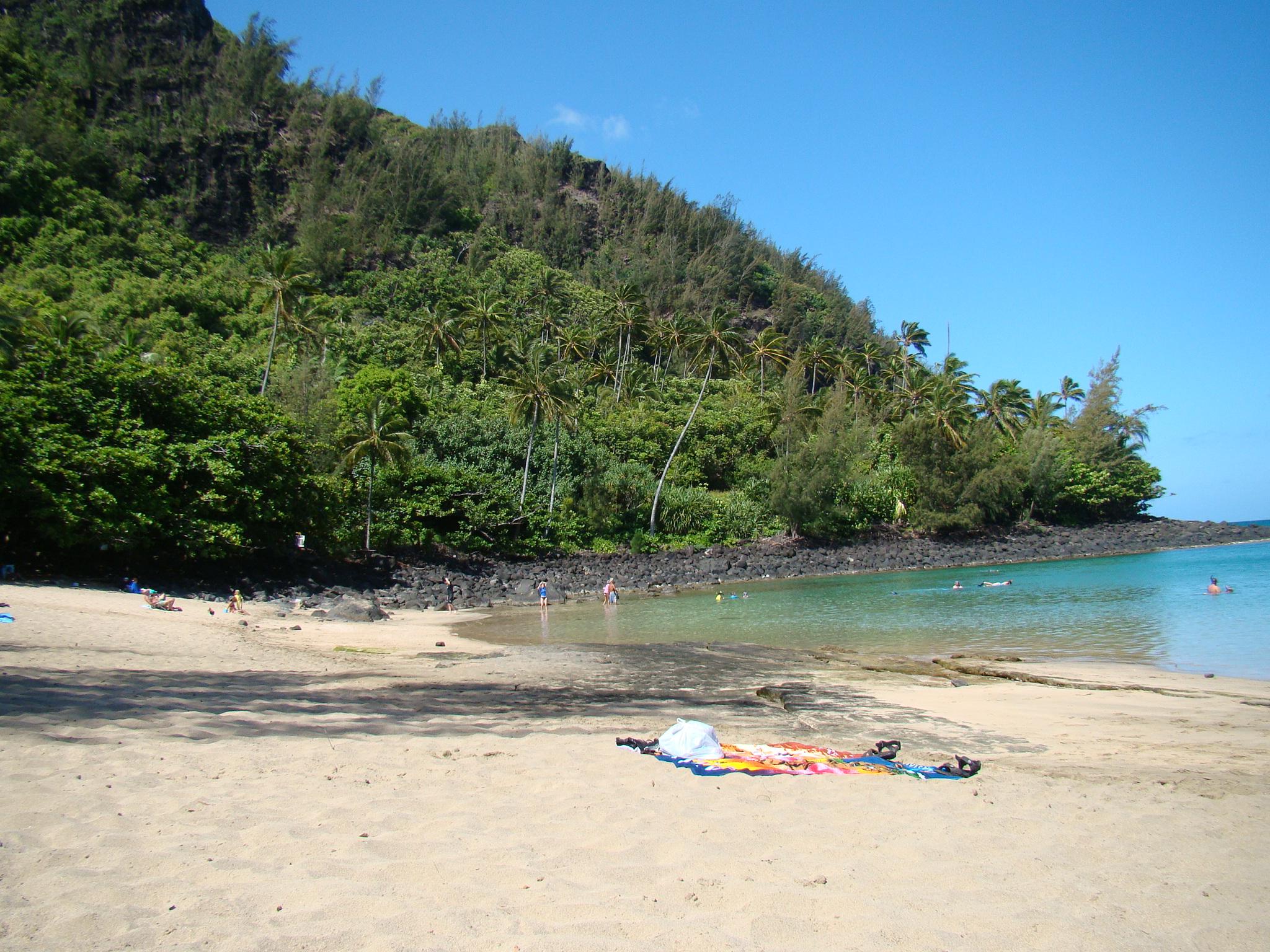 Ke'e Beach Tranquil in Morning