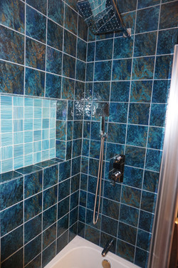 New Tile and Shower Hardware