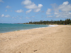 Wailua Beach Looking South