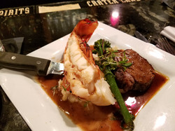 Steak and Lobster Special