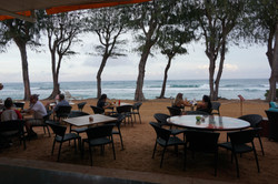 Oceanfront Dining on the Sand