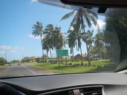 Kuhio Highway and Kilauea
