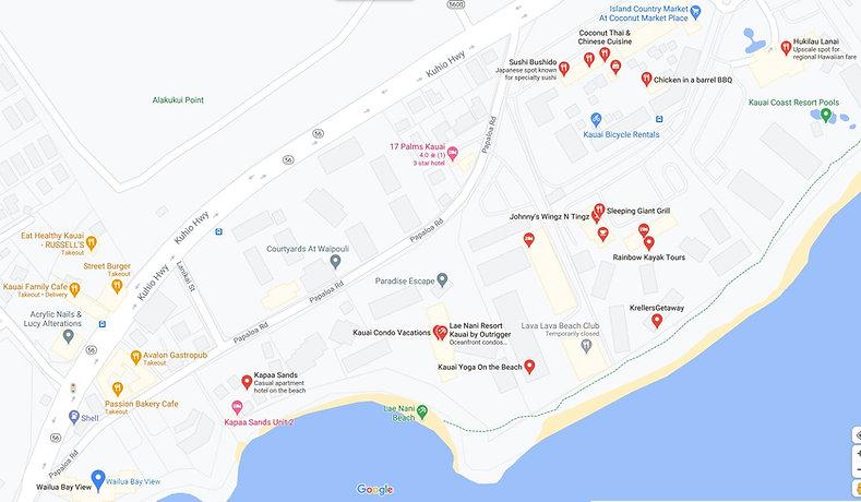 Local Retaurant Map.JPG