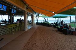 Entrance to Lava Lava Beach Club