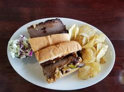 Smoked Brisket Sandwich - Amazing