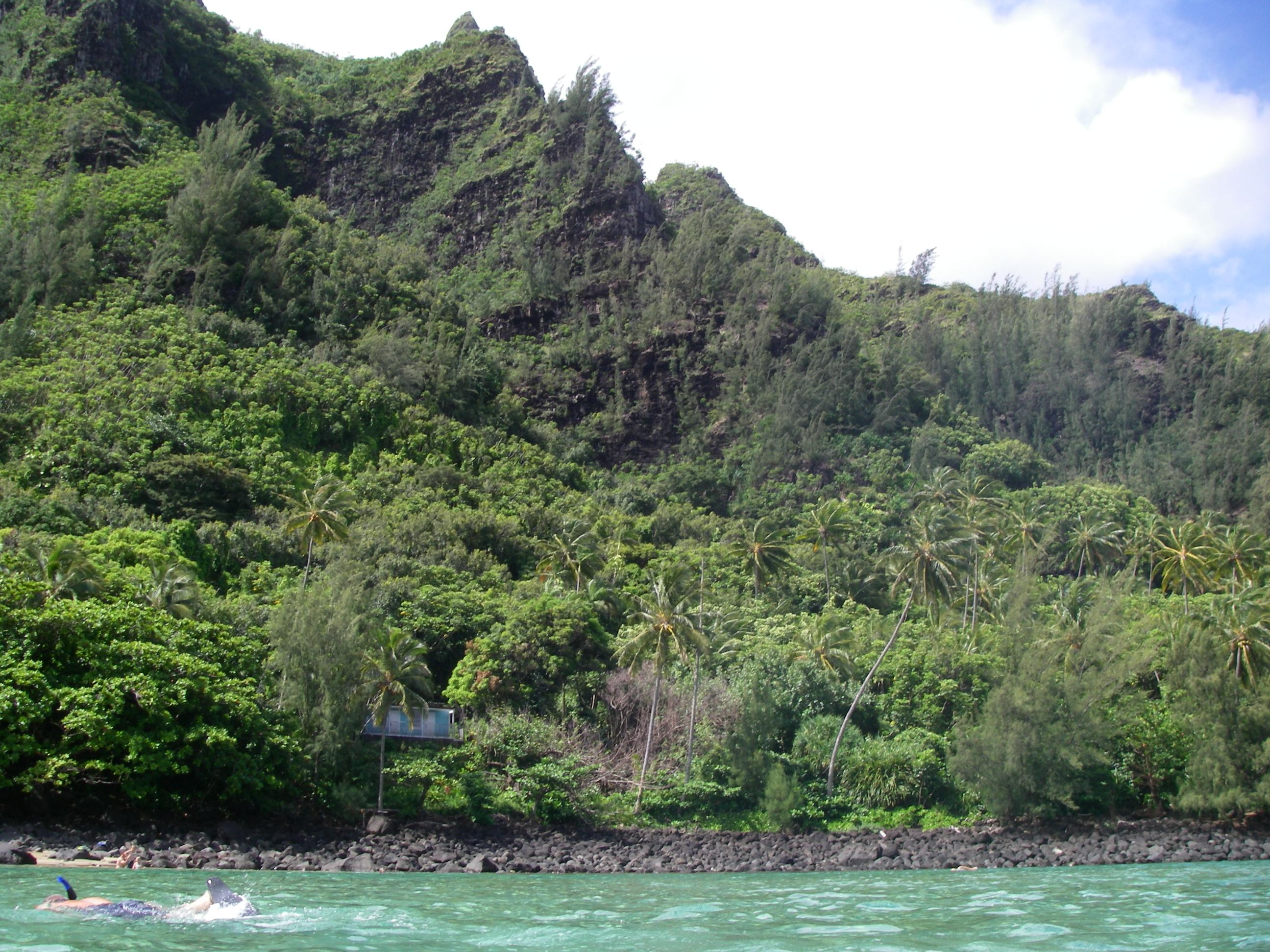 Famous Kalalau Trail Above