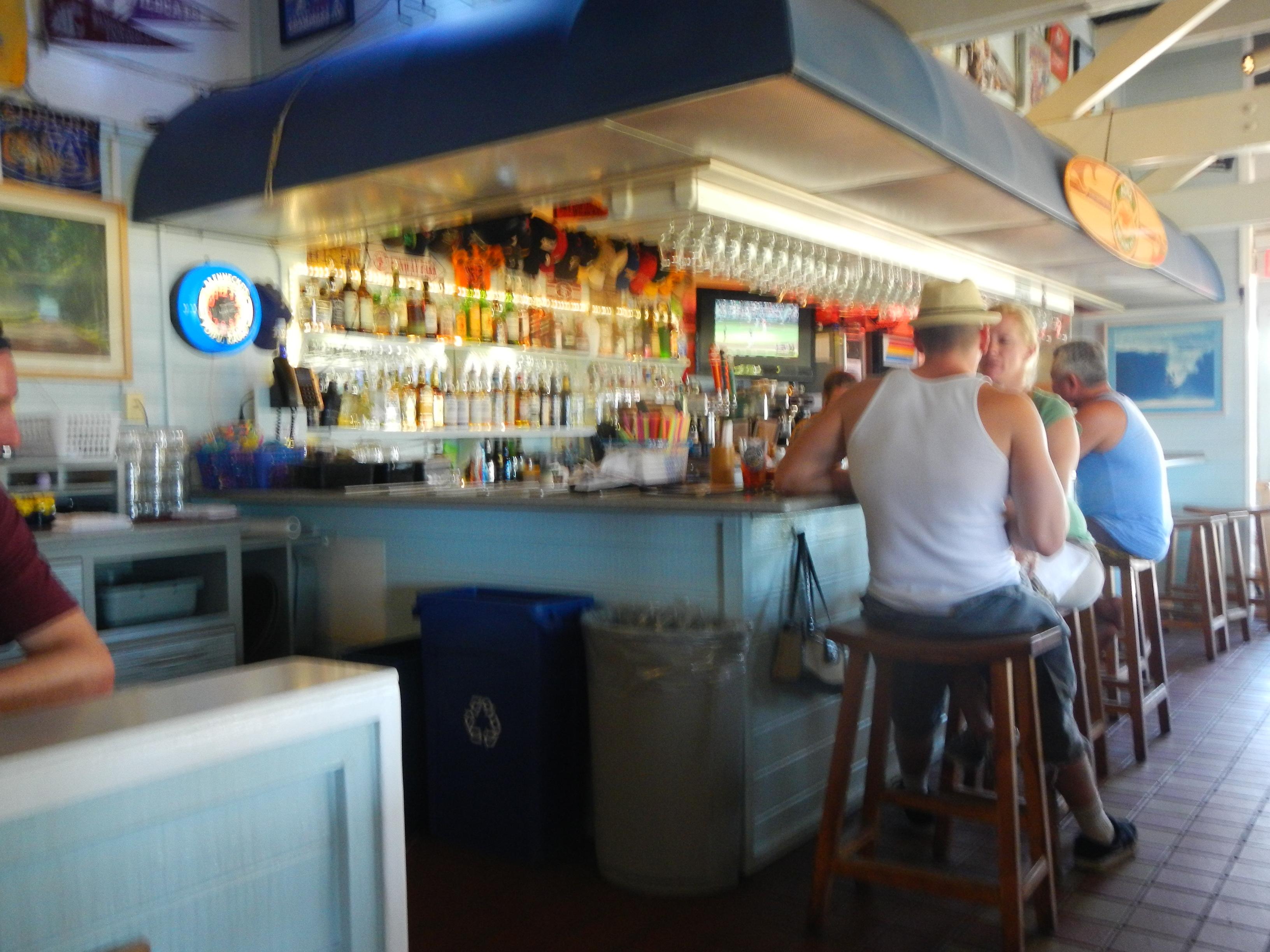 Festive Bar Area