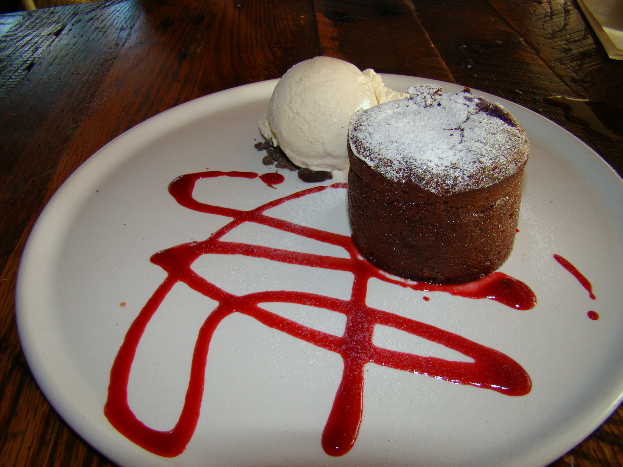 Roy's Molten Chocolate Cake