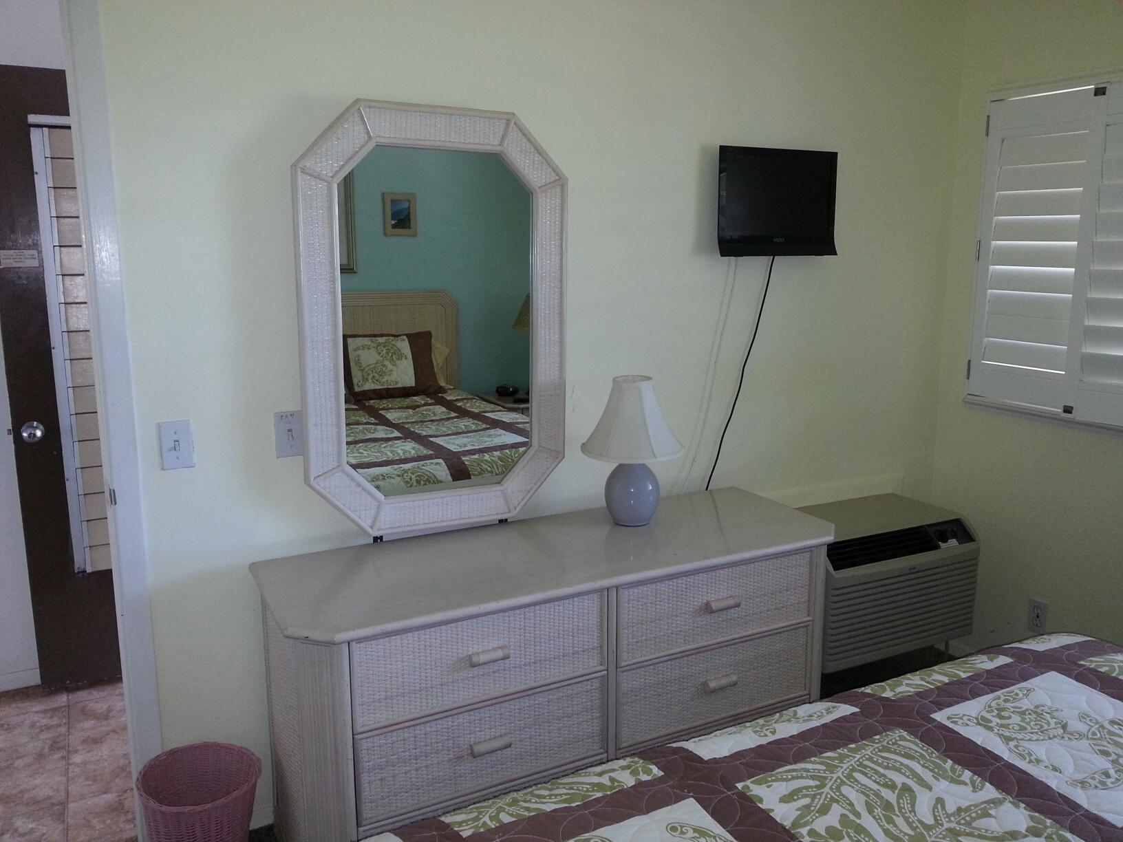 Dresser TV Windows Before