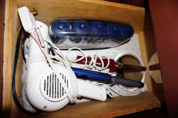Hair Dryer, Curling Irons, Curlers