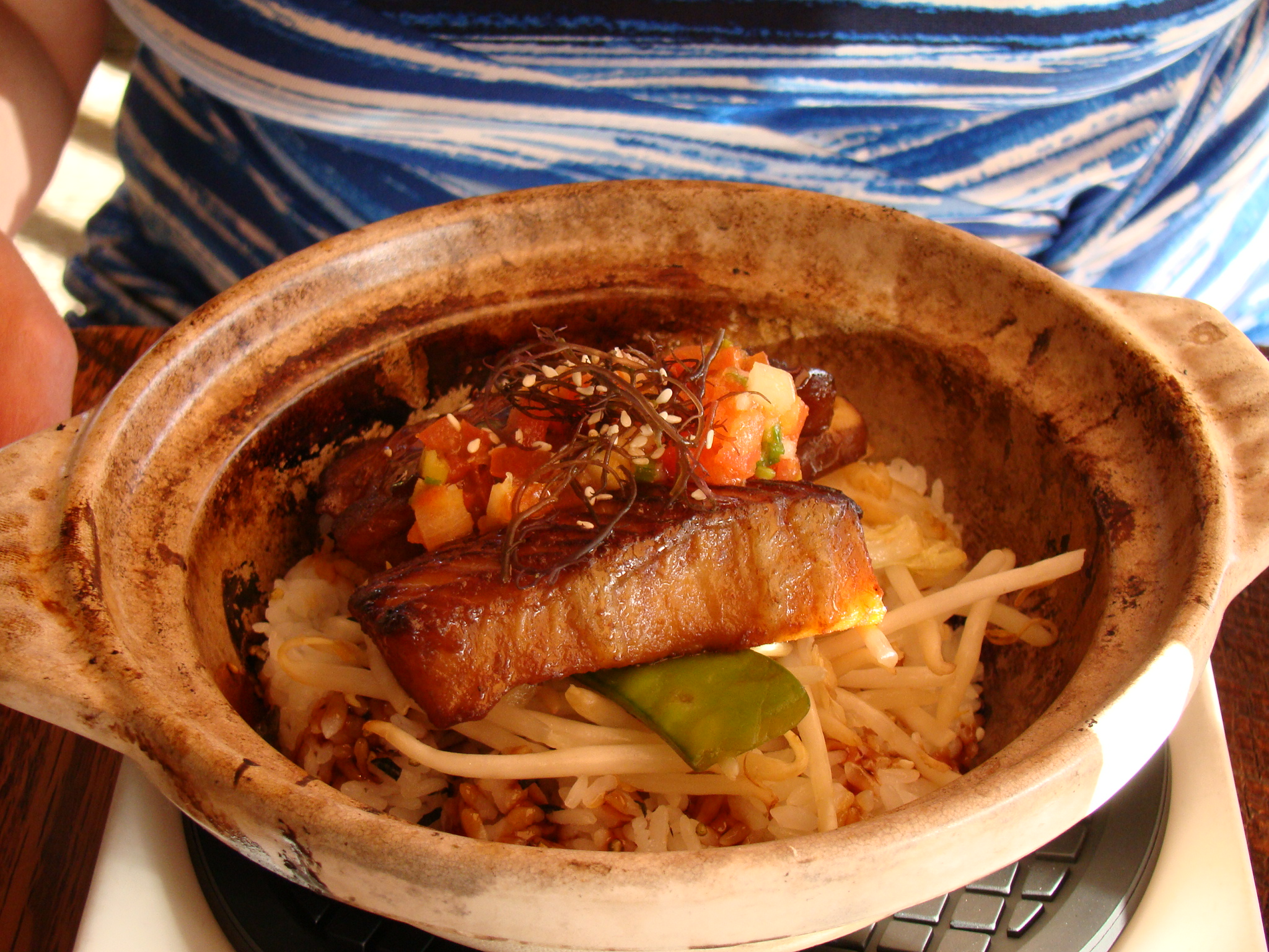Rice Bowl with Butterfish