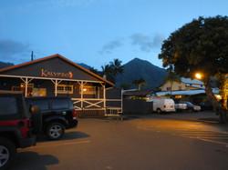 Kalypso Rear Entrance at Night