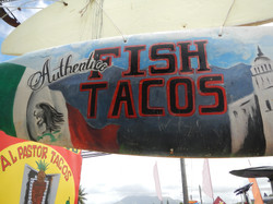 Great Fish Tacos Here
