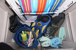 Beach Mats, Flippers, Misc