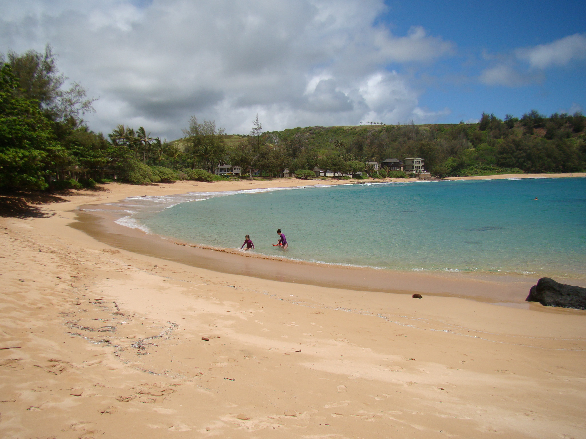 Large Soft Beach with Shade