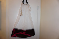 Laundry Bag on Bathroom Door