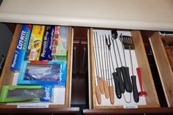 Storage Plastics and BBQ Tools