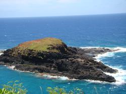 Island Near Lighthouse