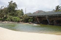 Wailua Beach at Wailua River