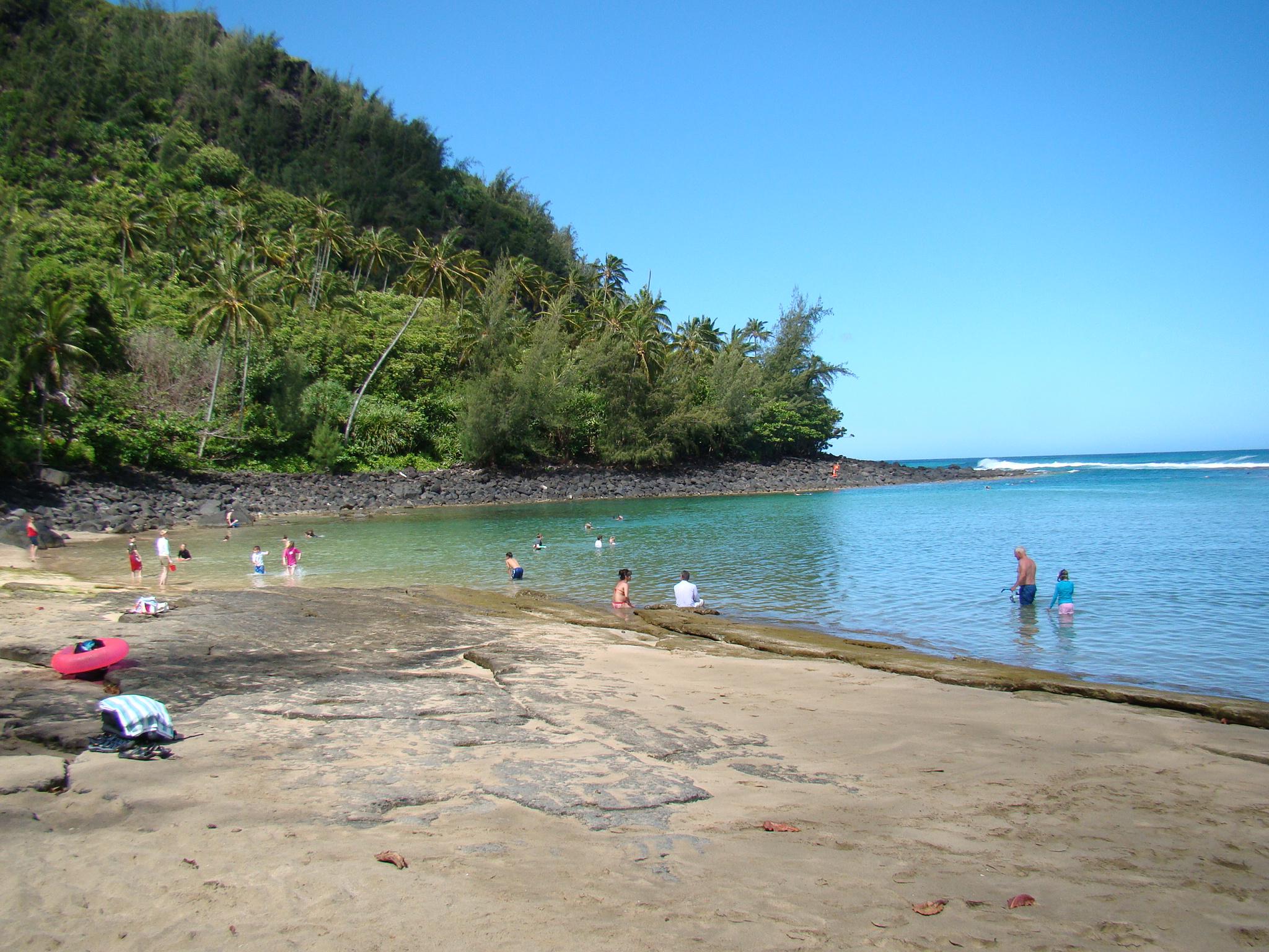 Ke'e Beach in Morning