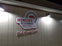 Monico's Sign
