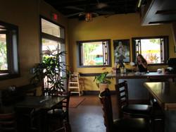 Tables around Bar