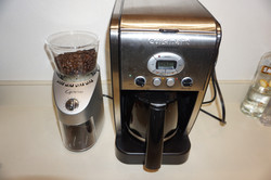 Coffee Grinder and Coffee Maker