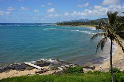 Wailua Beach from Lanai