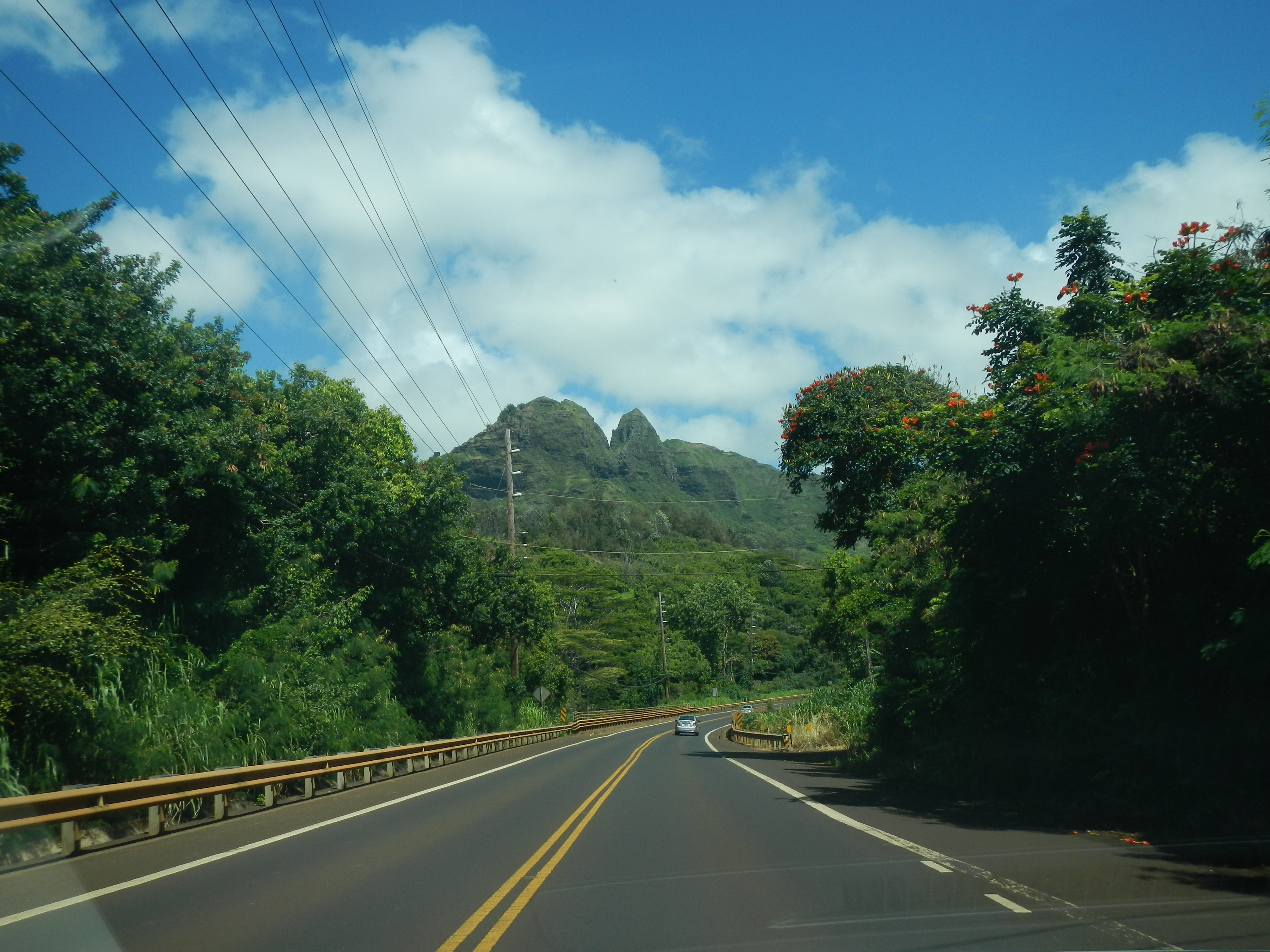 Driving North on Kuhio Highway