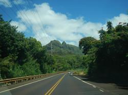 Driving North on Kuhio Highway